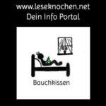 Bauchkissen Info