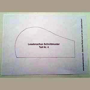 ᐅ Leseknochen Schnittmuster ᐅ Kostenlos Drucken ᐅ Pdf